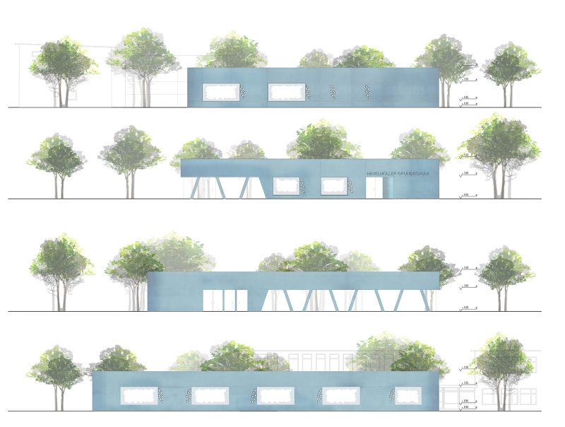 Erweiterung havelm ller grundschule mars architekten - Mars architekten ...
