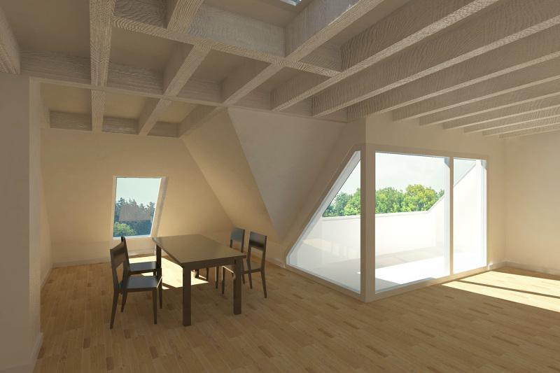 Dachgeschossausbau berlin mars architekten - Mars architekten ...