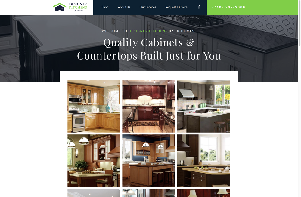 Designer Kitchens by JD Homes - The Chad - Quality Designs Co.